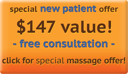 Promo Offer for Chiropractic Treatments